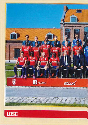 2014-15 - Panini Ligue 1 Stickers - N° 146 - Equipe Lille OSC