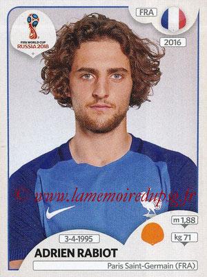 N° 204 - Adrien RABIOT (2012-??, PSG > 2018, France)