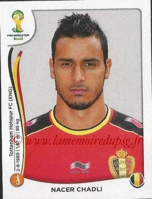 2014 - Panini FIFA World Cup Brazil Stickers - N° 577 - Nacer CHADLI (Belgique)