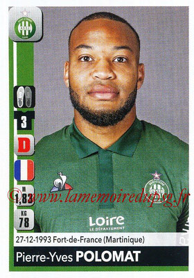 2018-19 - Panini Ligue 1 Stickers - N° 432 - Pierre-Yves POLOMAT (Saint-Etienne)