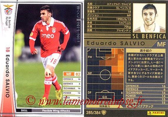 2012-13 - WCCF - N° 285 - Eduardo SALVIO (SL Benfica)