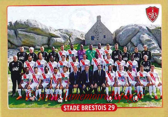 2015-16 - Panini Ligue 1 Stickers - N° 488 - Equipe Stade Brestois 29