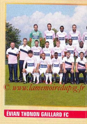 2014-15 - Panini Ligue 1 Stickers - N° 074 - Équipe Evian Thonon Gaillard FC