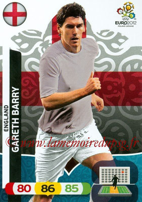 Panini Euro 2012 Cards Adrenalyn XL - N° 050 - Gareth BARRY (Angleterre)