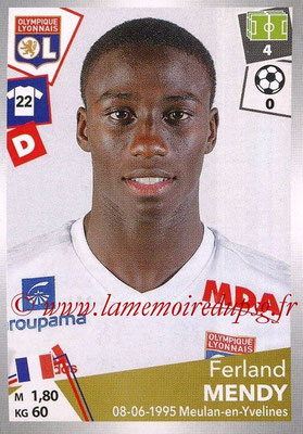 2017-18 - Panini Ligue 1 Stickers - N° 187 - Ferlad MENDY (Lyon)