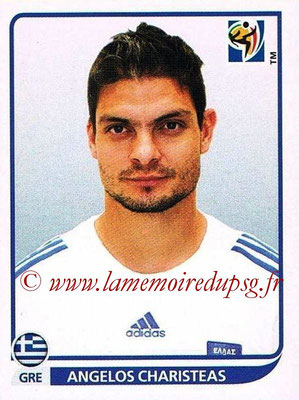 2010 - Panini FIFA World Cup South Africa Stickers - N° 181 - Angelos CHARISTEAS (Grèce)