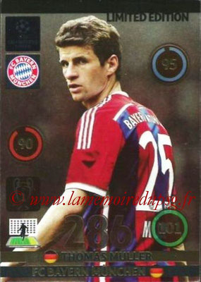 2014-15 - Adrenalyn XL champions League N° LE-TM - Thomas MULLER (Bayern Munich) (Limited Edition)
