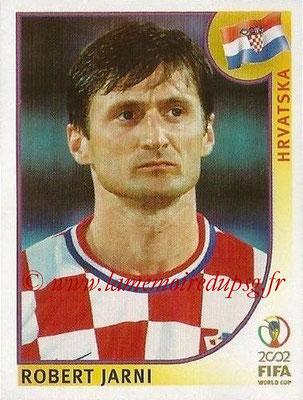 2002 - Panini FIFA World Cup Stickers - N° 485 - Robert JARNI (Croatie)