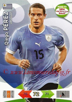 2014 - Panini Road to FIFA World Cup Brazil Adrenalyn XL - N° 187 - Diego PEREZ (Uruguay)