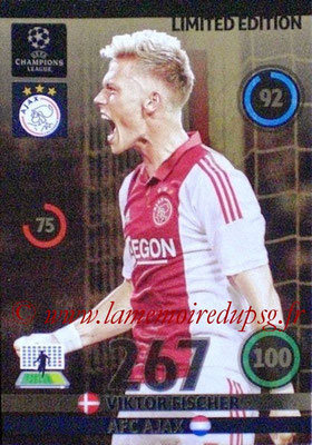 2014-15 - Adrenalyn XL champions League N° LE-VF - Viktor FISCHER (AFC Ajax) (Limited Edition)