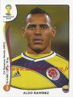 2014 - Panini FIFA World Cup Brazil Stickers - N° 192 - Aldo RAMIREZ (Colombie)