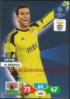 2013-14 - Adrenalyn XL champions League N° 091 - ARTUR (SL Benfica)