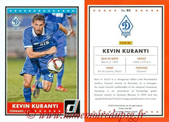 2015 - Panini Donruss Soccer - N° 093 - Kevin KURANYI (Dynamo Moscou)