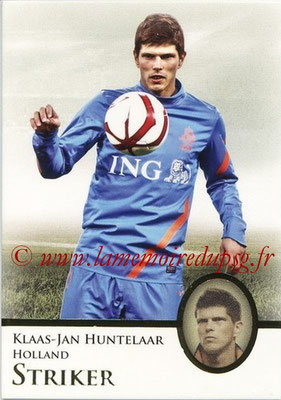 2013 - Futera World Football Unique - N° 081 - Klaas-Jan HUNTELAAR (Pays-Bas) (Striker)