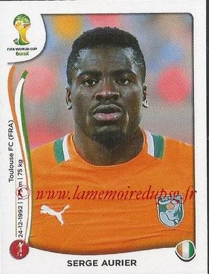 2014 - Panini FIFA World Cup Brazil Stickers - N° 226 - Serge AURIER (Côte d'Ivoire)