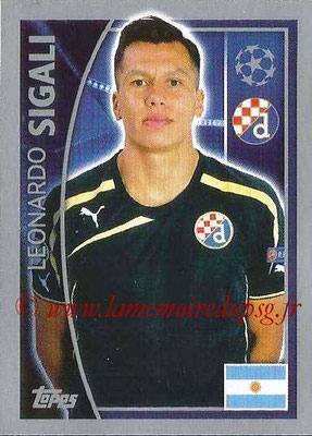 2015-16 - Topps UEFA Champions League Stickers - N° 426 - Leonardo  SIGALI (GNK Dinamo Zagreb)