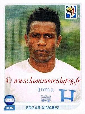 2010 - Panini FIFA World Cup South Africa Stickers - N° 614 - Edgar ALVAREZ (Honduras)