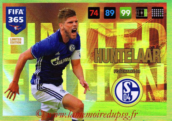 2016-17 - Panini Adrenalyn XL FIFA 365 - N° LE30 - Klaas-Jan HUNTELAAR (Schalke 04) (Limited Edition)