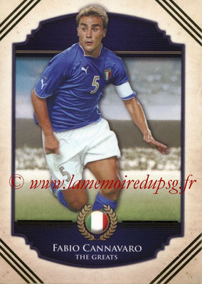 2014 - Futera World Football Unique - N° 103 - Fabio CANNAVARO (The Greats)