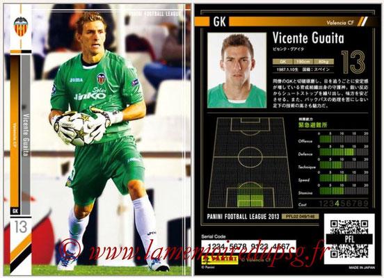 Panini Football League 2013 - PFL02 - N° 049 - Vicente Guaita ( Valencia CF )