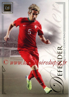 2014 - Futera World Football Unique - N° 013 - Fabio COENTRAO (Defender)