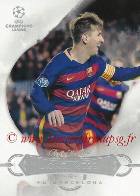 2015-16 - Topps UEFA Champions League Showcase Soccer - N° BB-LM - Lionel MESSI (FC Barcelone) (Best of the Best)