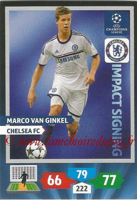 2013-14 - Adrenalyn XL champions League N° 273 - Marco VAN GINKEL (Chelsea FC) (Impact Signing)