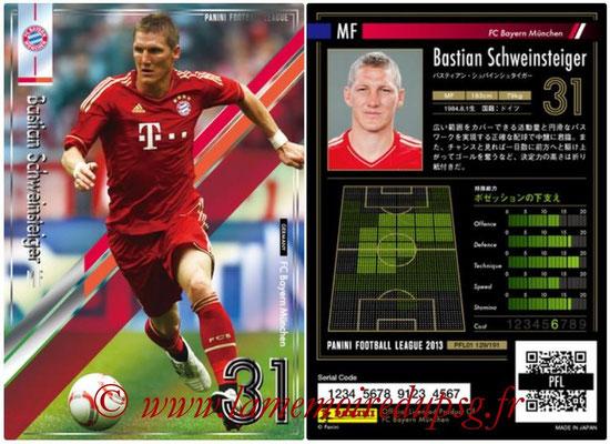 Panini Football League 2013 - PFL01 - N° 129 - Bastian Schweinsteiger ( FC Bayern Munchen )