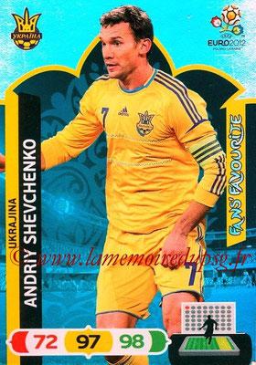Panini Euro 2012 Cards Adrenalyn XL - N° 275 - Andriy SHEVCHENKO (Ukraine) (Fans' Favourite)