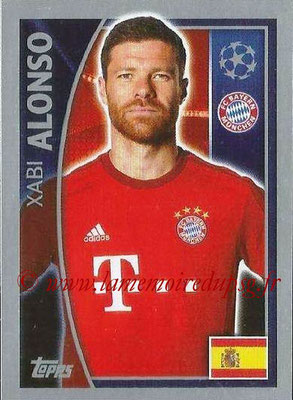 2015-16 - Topps UEFA Champions League Stickers - N° 383 - Xabi ALONSO (FC Bayern Munich)