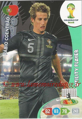 2014 - Panini FIFA World Cup Brazil Adrenalyn XL - N° 273 - Pablo COENTRAO (Portugal) (Utility Player)