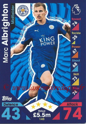 2016-17 - Topps Match Attax Premier League - N° 140