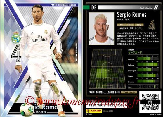 Panini Football League 2014 - PFL07 - N° 146 - Sergio RAMOS (Real Madrid) (Stopper)