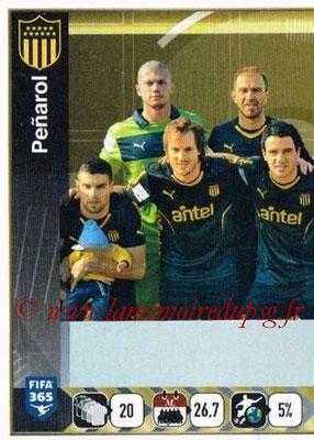 2015-16 - Panini FIFA 365 Stickers - N° 837 - Equipe Penarol 1