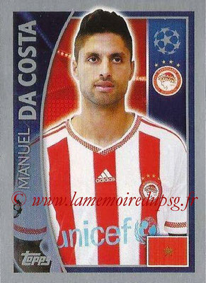 2015-16 - Topps UEFA Champions League Stickers - N° 411 - Manuel DA COSTA(Olympiacos FC)