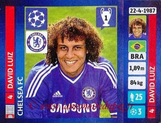 N° 332 - David LUIZ (2013-14, Chelsea, ANG > 2014-??, PSG)