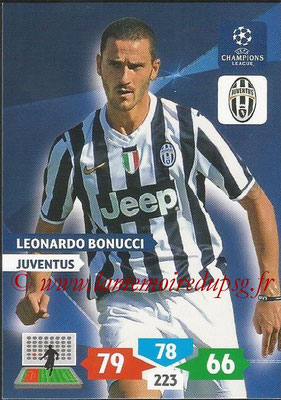2013-14 - Adrenalyn XL champions League N° 147 - Leonardo BONUCCI (Juventus FC)
