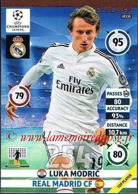 2014-15 - Adrenalyn XL champions League Update edition N° UE110 - Luka MODRIC (Real Madrid) (Key Player)