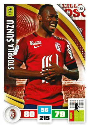 2016-17 - Panini Adrenalyn XL Ligue 1 - N° 122 - Stoppila SUNZU (Lille)