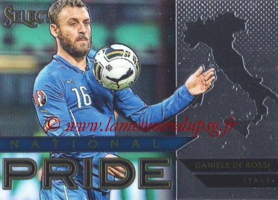 2015 - Panini Select Soccer - N° NP24 - Daniele DE ROSSI (Italie) (National Pride)
