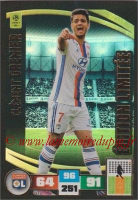 2016-17 - Panini Adrenalyn XL Ligue 1 - N° LE-CG - Clément GRENIER (Lyon) (Edition Limitée)