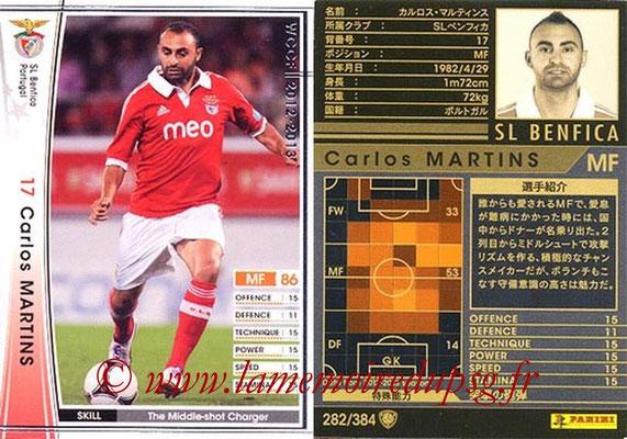 2012-13 - WCCF - N° 282 - Carlos MARTINS (SL Benfica)