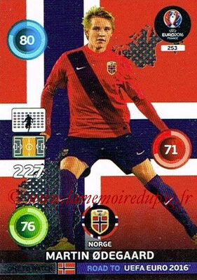 Panini Road to Euro 2016 Cards - N° 253 - Martin ODEGAARD (Norvège) (One to Watch)