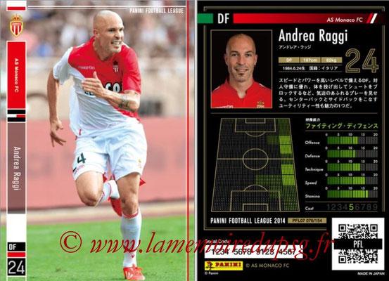 Panini Football League 2014 - PFL07 - N° 076 - Andrea RAGGI (AS Monaco)