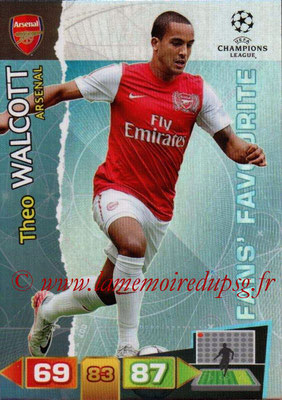 2011-12 - Panini Champions League Cards - N° 297 - Theo WALCOTT (Arsenal FC)