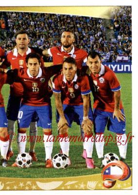 Panini Copa America Centenario USA 2016 Stickers - N° 328 - Equipe Chili2