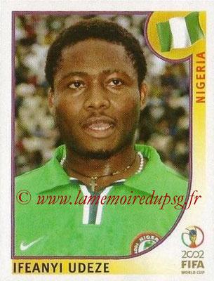 2002 - Panini FIFA World Cup Stickers - N° 410 - Ifeanyi UDEZE (Nigéria)
