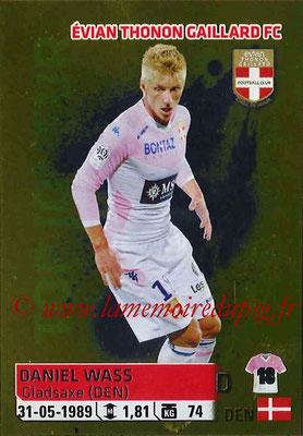 2014-15 - Panini Ligue 1 Stickers - N° 096 - Daniel WASS (Evian Thonon Gaillard FC)