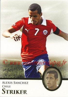 2013 - Futera World Football Unique - N° 088 - Alexis SANCHEZ (Chili) (Striker)