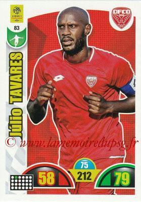 2018-19 - Panini Adrenalyn XL Ligue 1 - N° 083 - Julio TAVARES (Dijon)